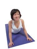 Yoga-Praxis Lizenzfreie Stockbilder