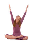 Yoga-Praxis   Lizenzfreies Stockbild