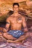 Yoga rebel. Royalty Free Stock Photos