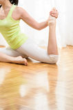 Yoga and Relax Royalty Free Stock Photography