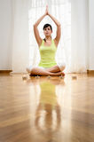 Yoga and Relax Royalty Free Stock Image