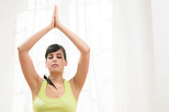 Yoga and Relax Stock Photo