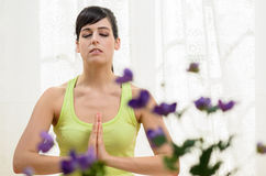 Yoga and Relax Royalty Free Stock Photo