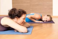 Yoga Relax Stock Photo