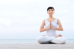 Yoga relax and meditation Stock Image