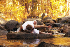 Yoga River Royalty Free Stock Photo
