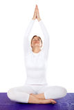 Yoga session Stock Image