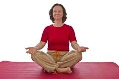 Yoga Session Royalty Free Stock Photos