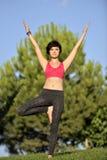 Yoga session Royalty Free Stock Photo