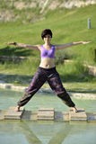 Yoga session Royalty Free Stock Photography