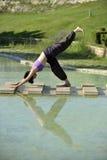 Yoga session Stock Image
