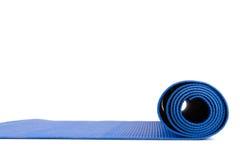 Yoga som är matt för övning Arkivbilder
