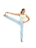Yoga standing #2 Royalty Free Stock Photos