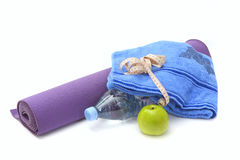 Yoga still life Stock Photo