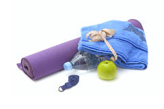 Yoga still life Royalty Free Stock Image