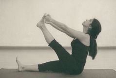 Yoga Stretch Royalty Free Stock Photos