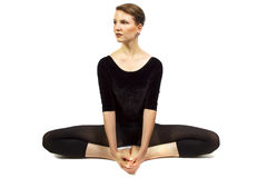 Yoga Stretching Stock Photography