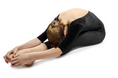 Yoga Stretching Royalty Free Stock Photography