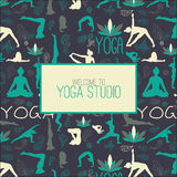 Yoga studio Royalty Free Stock Images