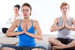 Yoga studio Stock Photos