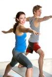 Yoga studio Royalty Free Stock Photography