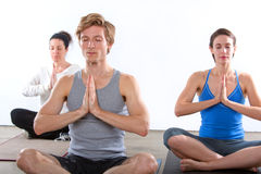 Yoga studio Stock Images