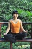 Yoga style Royalty Free Stock Photos