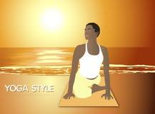 YOGA STYLE Royalty Free Stock Image
