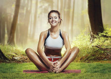 Yoga style Stock Photos
