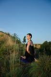 Yoga: Styrka, harmoni och lugn Arkivbilder