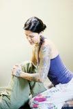 Yoga tailandesa Fotografía de archivo libre de regalías