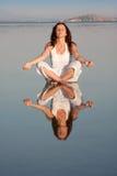 Yoga teacher Royalty Free Stock Photography