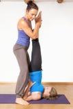 Yoga teacher Royalty Free Stock Photo