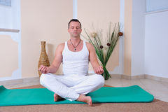 Yoga teachers Stock Photos