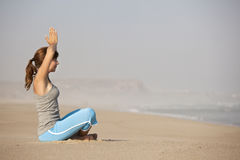 Yoga time Royalty Free Stock Photos
