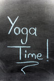 Yoga Time Royalty Free Stock Images