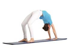 Yoga trainer Stock Image