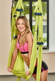 Yoga trainer Stock Images