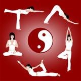 Yoga-Training Lizenzfreie Stockfotos