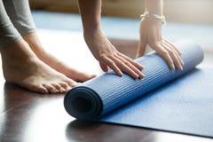 Yoga training concept Stock Photos
