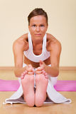Yoga - Ugra-asana Royalty Free Stock Photos