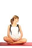 Yoga und Eignung Stockbild