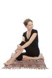 Yoga und Eignung. Lizenzfreie Stockfotos