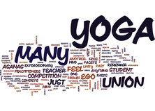 Yoga Is Unity Text Background Word Cloud Concept Royalty Free Stock Photo