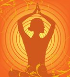 Yoga vector Stock Photography