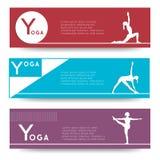 Yoga vector banner. Stock Image