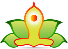 Yoga stock illustration