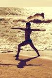 Yoga Warrior Stock Photo