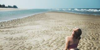 Yoga Wellness-Geistigkeits-Übungs-Meditations-Gesundheitswesen Concep Lizenzfreies Stockbild