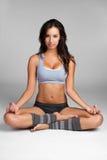 Yoga Woman. Beautiful young latina yoga woman Stock Photos